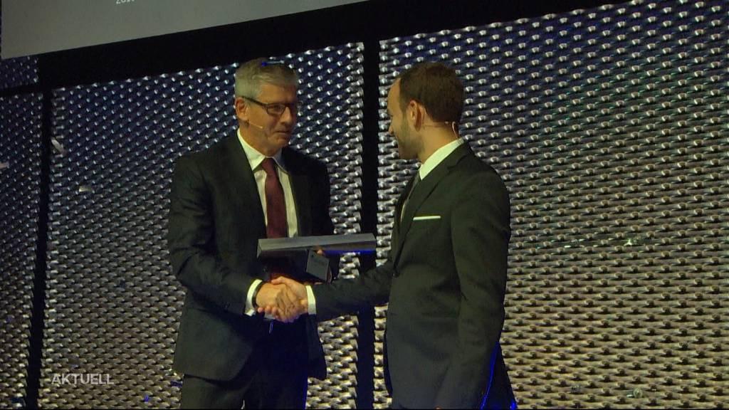 Nicholas Hänny ist Aargauer des Jahres 2019
