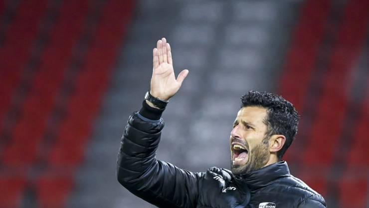 Fabio Grosso will mit dem FC Sion in Vaduz an den Sieg gegen Servette anknüpfen