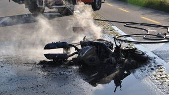 Motorradunfall in Selzach (26.Mai 2020)