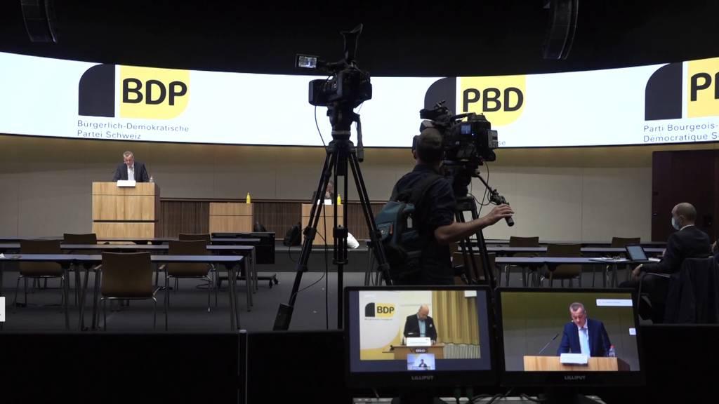 BDP-Delegierte sagen Ja zum Zusammenschluss mit der CVP