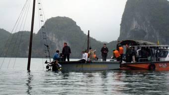 Schiffsunglück in der Halong-Bucht vor Hanoi: Ein 20-jähriger Schweizer stirbt