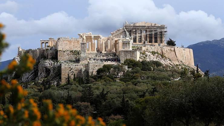 Der griechische Fussballverband wurde in Athen systematisch abgehört. (Archivbild)