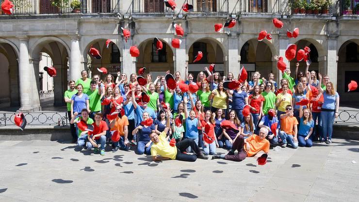 Das Ensemble Maspimatz reist im Mai ans europäische Jugendmusikfestival.