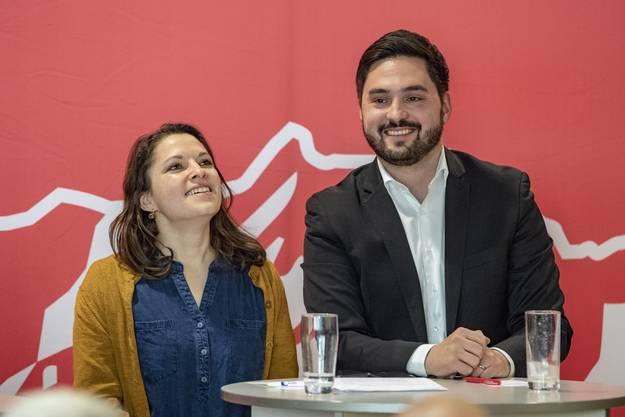 Mattea Meyer und Cédric Wermuth wollen in der Westschweiz Präsenz markieren.