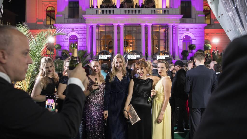 Auch wenn am Sonntag weitere Filme laufen: Die Award Night im Zürcher Opernhaus bilden das inoffizielle Ende des Zurich Film Festivals.