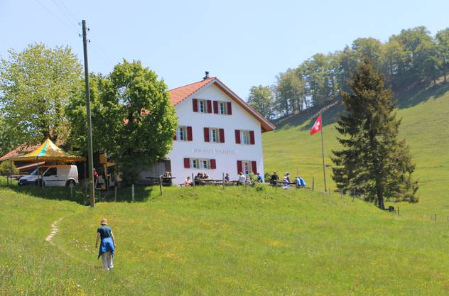Das Bergrestaurant Vogelberg