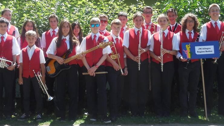 Die 18 Jugendlichen zeigten einen tollen Konzertvortrag