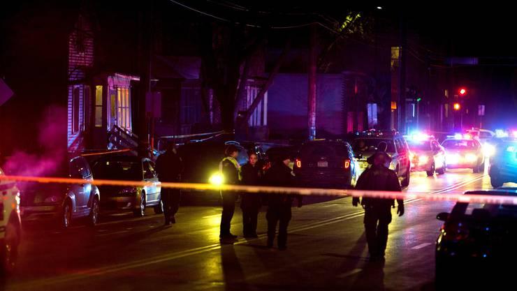 Hier starb der 19-jährige Schwarze in Madison, Wisconsin, durch einen Schuss eines Polizisten.