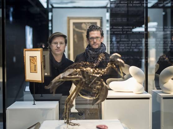 """Die Gastkuratoren kreierten die Ausstellung zum Unruhejahr 1968 im Zürcher Landesmuseum. Die Besucher sollen sich """"naiv hinein leben"""" können in die damalige Zeit."""