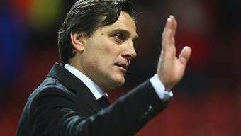Vincenzo Montella kassierte mit dem FC Sevilla vor dem Rückspiel gegen Bayern München eine Kanterniederlage