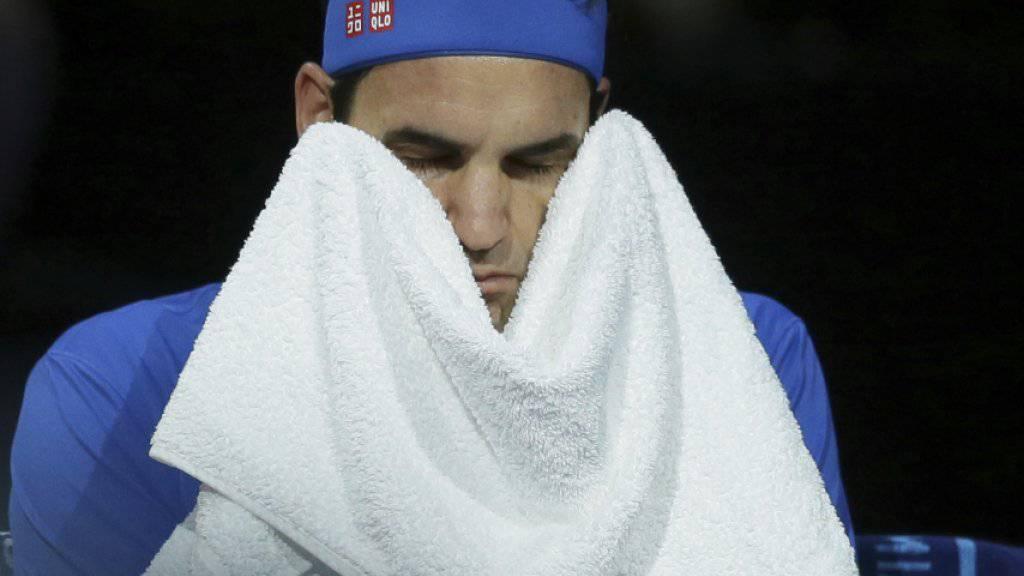 Roger Federer scheiterte in London im Halbfinal