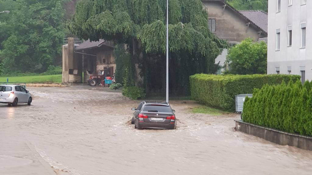 Erneut sorgen starke Sommer-Gewitter für Überschwemmungen