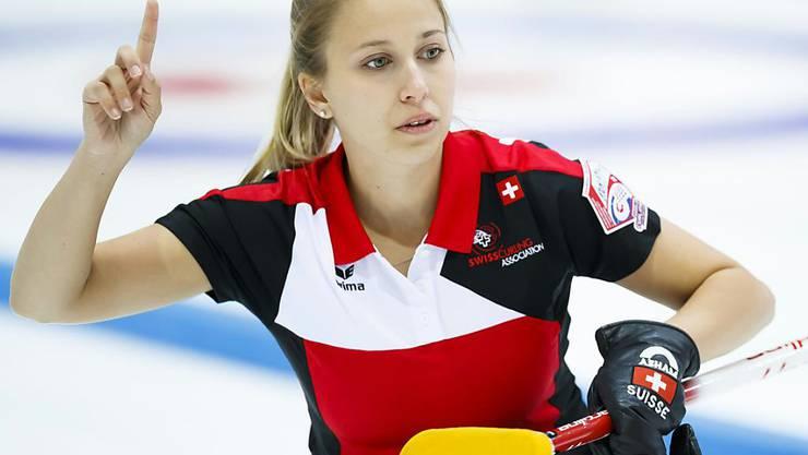 Skip Elena Stern macht mit ihrem Team auf dem höchsten Niveau auf sich aufmerksam