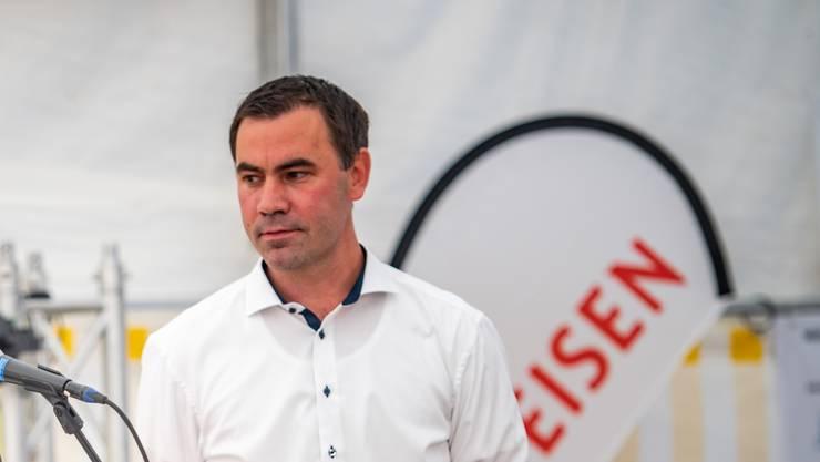 Martin Rufer wird Präsident des Bauernverbandes.