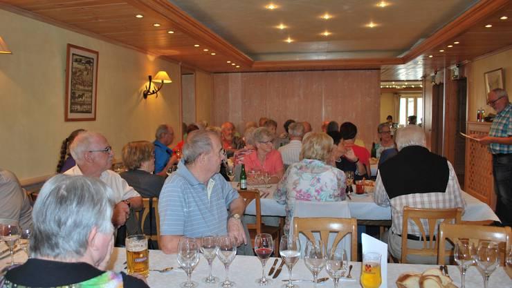 Mittagessen im Hotel de Ville in Gruyère