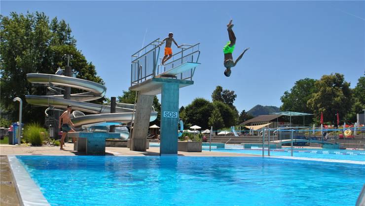 Der Hitzesommer bescherte den Fricktaler Badis – hier Frick – einen Höhenflug und rekordverdächtige Besucherzahlen
