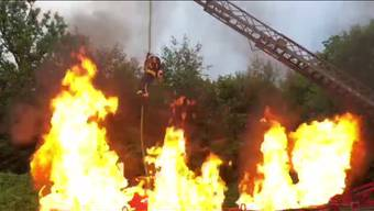 Der Beitrag der Feuerwehr Vordemwald