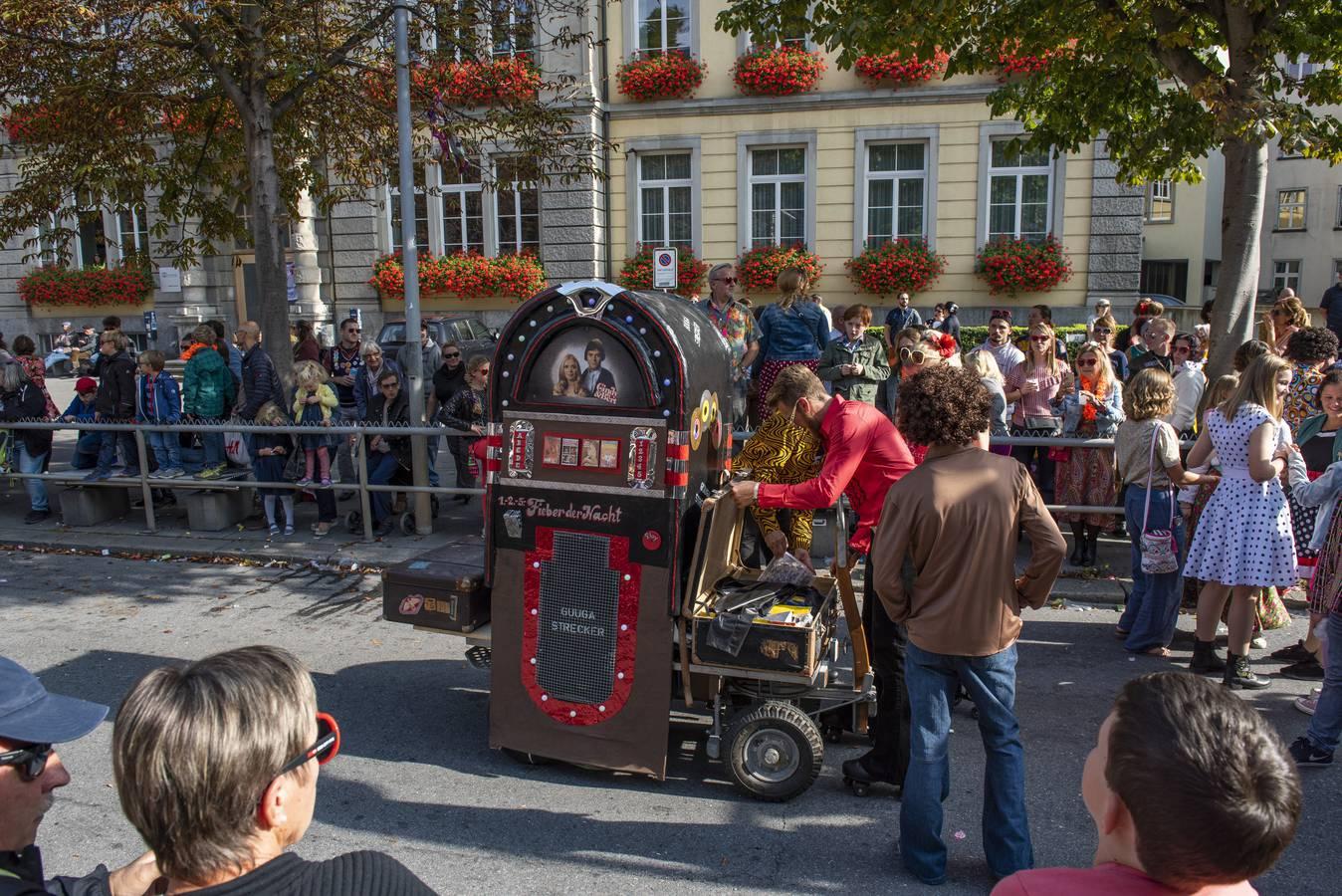 Die Schlagerparade zieht durch Chur (© FM1Today/Kevin Suter)