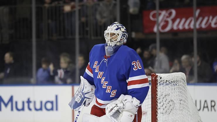 Zeigte eine starke Leistung: Rangers-Goalie Henrik Lundqvist
