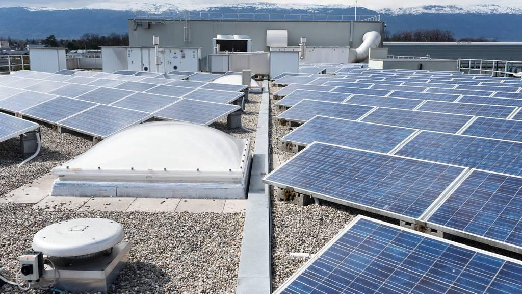 470 Millionen Franken: Schweiz investiert in die Sonnenenergie