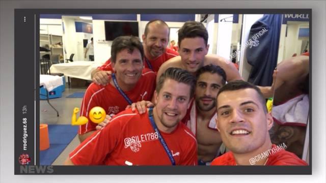 1:1 gegen Brasilien: Für Schweizer wie ein Sieg