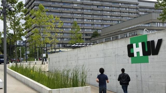 Blick auf das Universitätsspital Lausanne