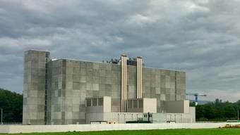 Das neue Rechenzentrum des Bundes steht auf dem Gelände des Waffenplatzes Auenfeld bei Frauenfeld TG. Es soll die Sicherheit von Daten des Bundes erhöhen.