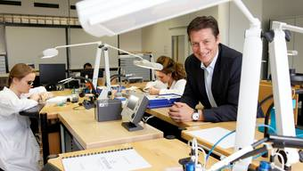Der 41-jährige Patrick Kury – hier noch bei der Eterna – ist Geschäftsführer der neu gegründeten Porsche Design Timepieces AG. Archiv