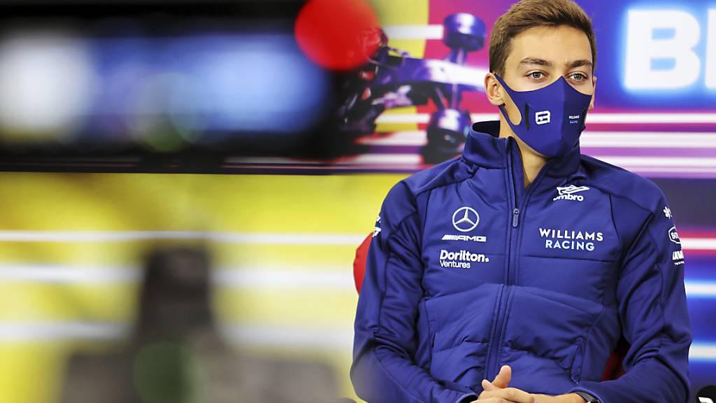 George Russell sicherte sich seinen ersten Podestplatz in der Formel 1
