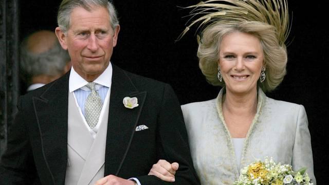 Camilla und Charles feiern ihr Liebesglück im Stillen (Archiv)