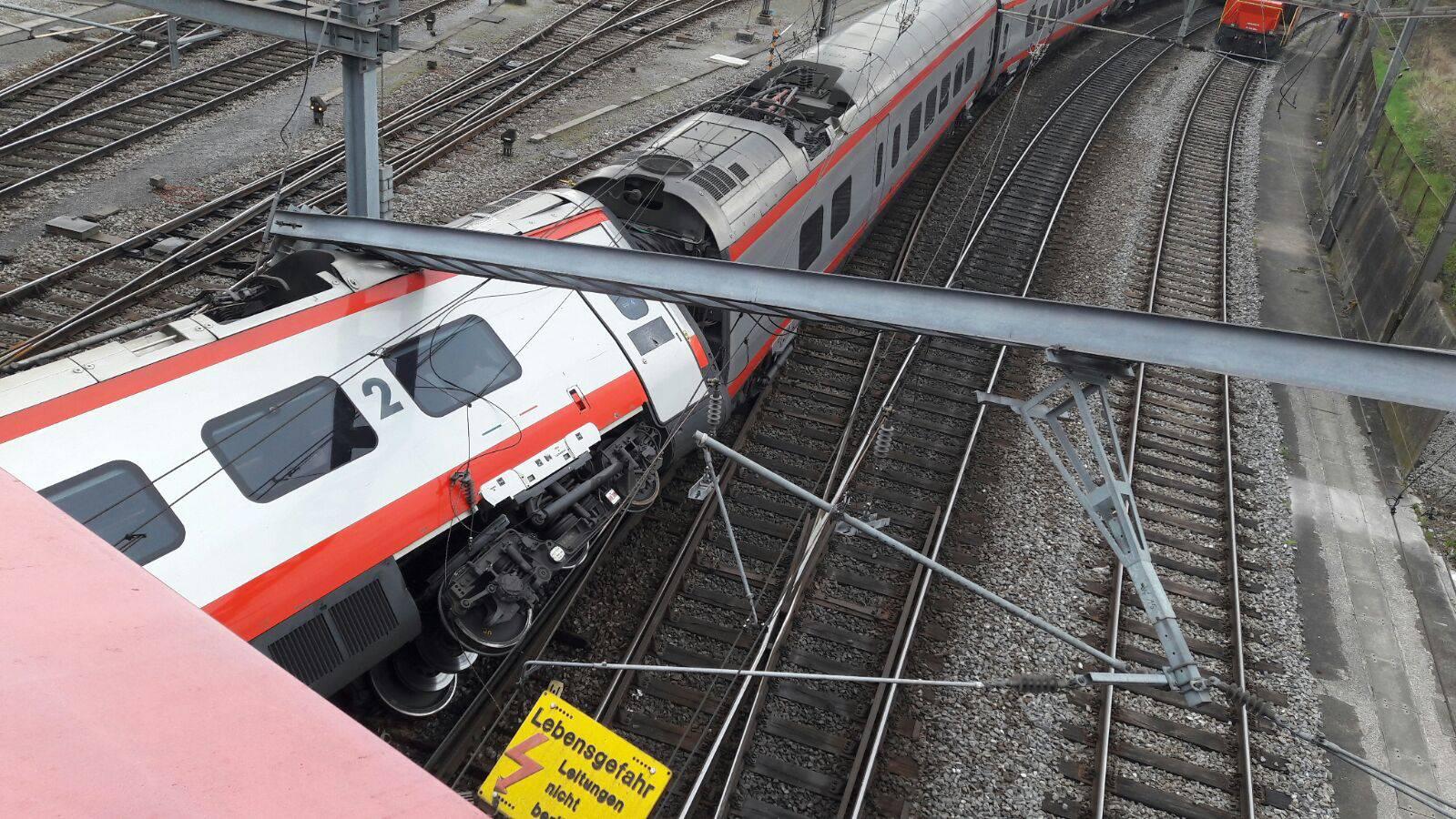 Bahnhof Luzern bleibt bis Sonntag geschlossen