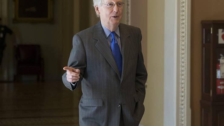 Mitch McConnell, Mehrheitsführer im US-Senat, hat eine neue Abstimmung für die NSA-Reform angesetzt. Damit könnte das Sammeln von Metadaten in den USA zur Terrorabwehr bald wieder möglich sein
