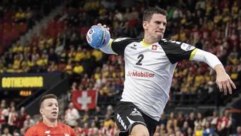 Andy Schmid, mit 15 Treffern der Mann des Spiels.