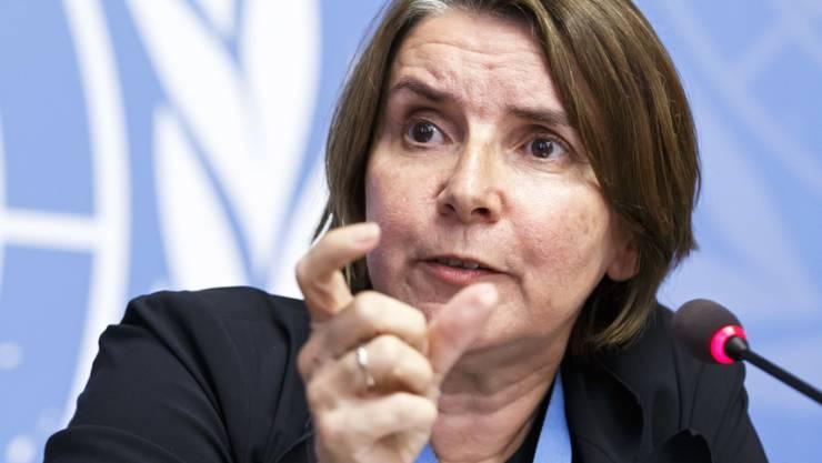 Catherine Marchi-Uhel gibt sich zuversichtlich, dass syrische Kriegsverbrechen geahndet werden