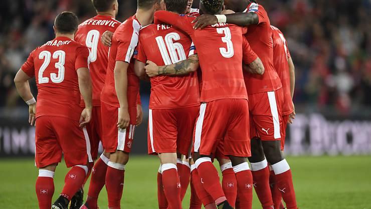 Die Schweiz gehört in der Nations League zu Topf 2