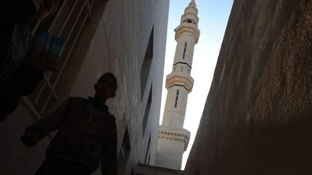 Das Minarett einer Moschee in Burka (Archiv)