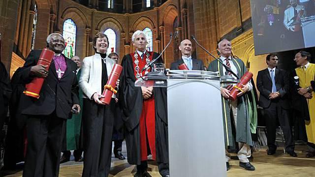 Die neuen Ehrendoktoren der Uni Genf