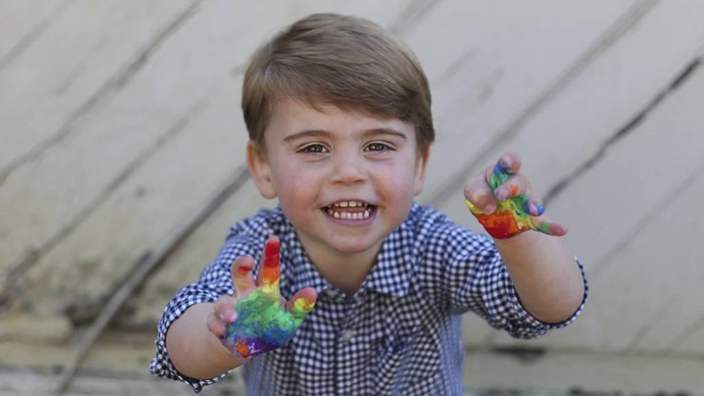 Bunter Geburtstag für Prinz Louis