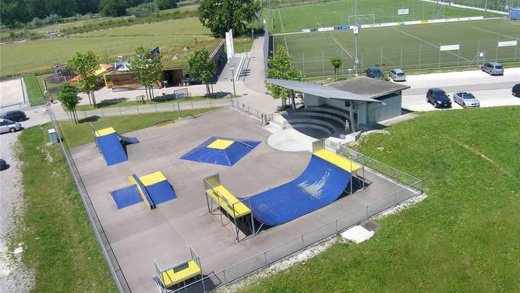Im Werd ist eine moderne Freizeit- und Sportanlage für ein breites Publikum entstanden.