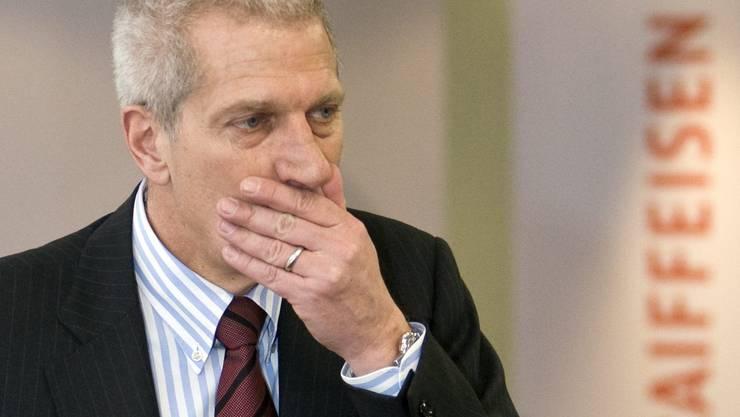 Trieb die Expansion, die in einem Millionenloch endete: Ex-Raiffeisen-Chef Pierin Vincenz.
