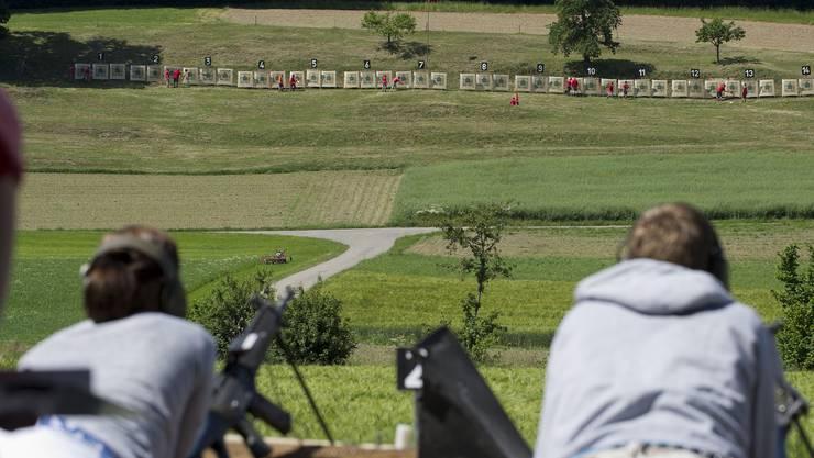 Gut in Schuss: Für 3600 Solothurner ist Schiessen ein Sport (Symbolbild)