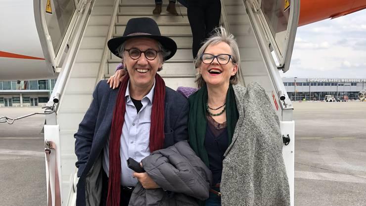 Bereiten ihren Ausstieg vor: Georg Darvas und Johanna Schwarz haben den Prozess ihrer Ablösung als Leitungsduo von Neuestheater.ch angestossen.