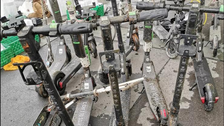 Taucher haben kürzlich innert wenigen Stunden zehn Miet-E-Scooter aus dem Zürichsee gezogen.