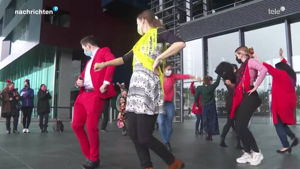 Flamenco Flashmob in Luzern