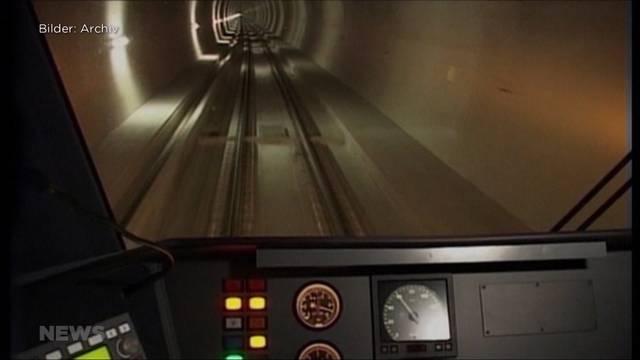 100 Mio. Franken für neue Fahrbahn im Lötschbergtunnel