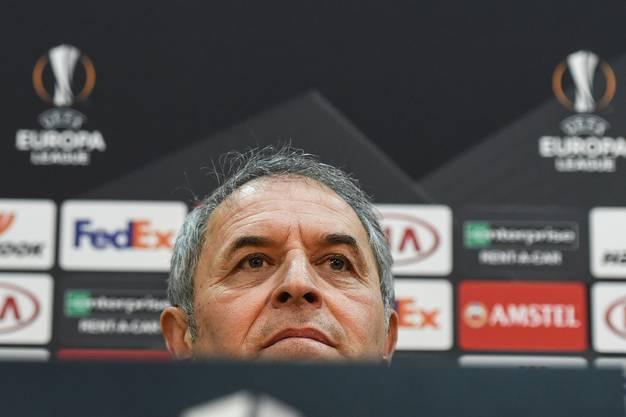 """Marcel Koller: """"Du musst immer gewinnen. Das ist bei allen Mannschaften so, sonst setzt die Presse den Trainer unter Druck. Das kennen wir ja und das darf uns nicht beeindrucken."""""""
