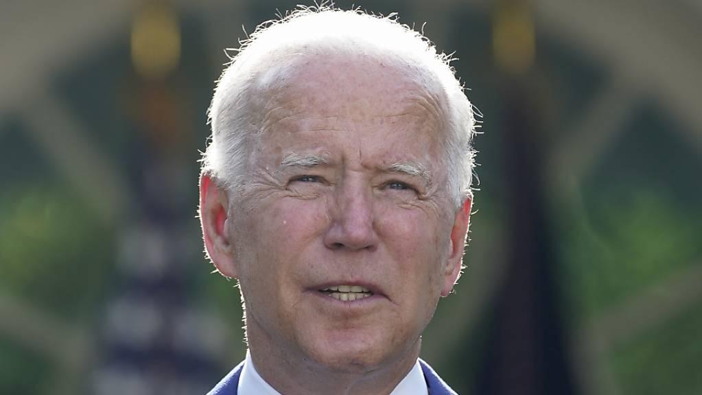Der US-Senat hat Investitionen von rund einer Billion Dollar  in die Infrastruktur beschlossen. US-Präsident Joe Biden argumentierte, mit den Investitionen würden Millionen Jobs geschaffen.(Archivbild)