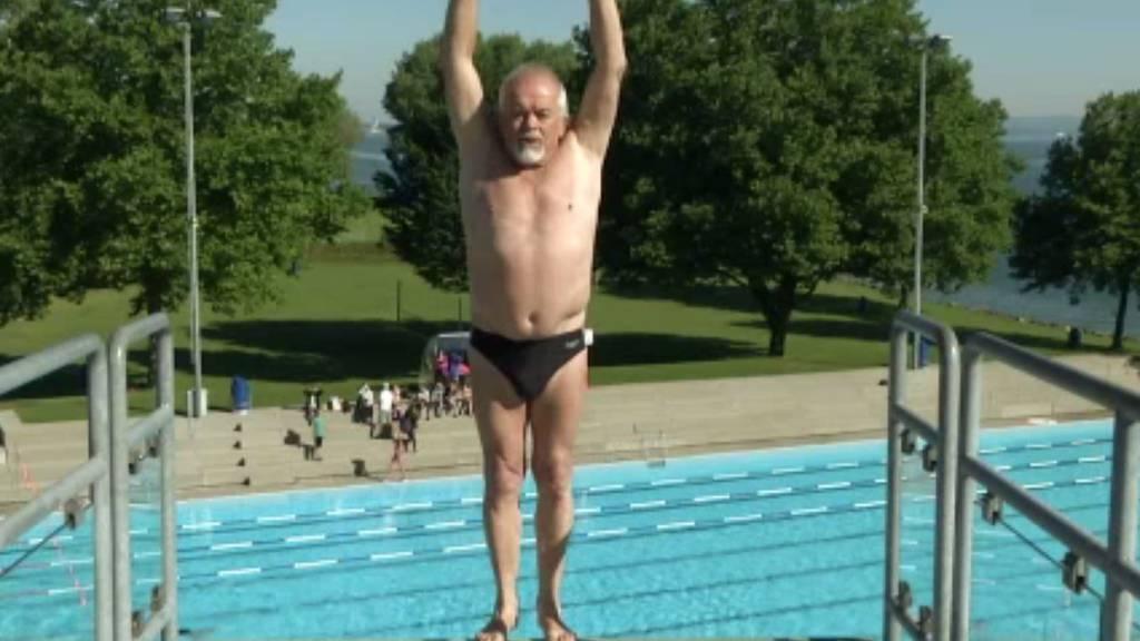 Dieser 70-jährige Wiler springt ohne Angst.