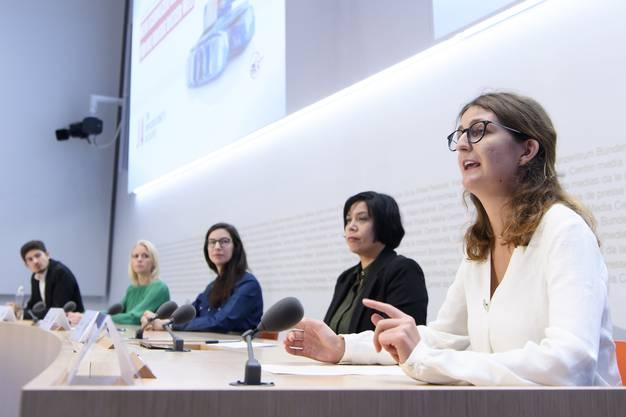 Das Ja-Komitee lancierte seine Abstimmungskampagne am Donnerstag in Bern.