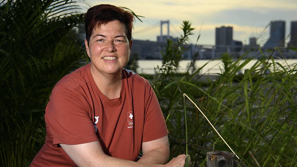 Heidi Diethelm Gerber erreichte in der Qualifikation mit der Sportpistole über 25 m 579 Punkte, was nicht für die Finalteilnahme ausreicht.